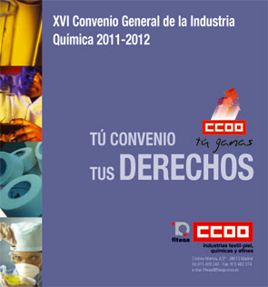 Folleto Resumen del XVI Convenio General de la Industria Química 2011 - 2012